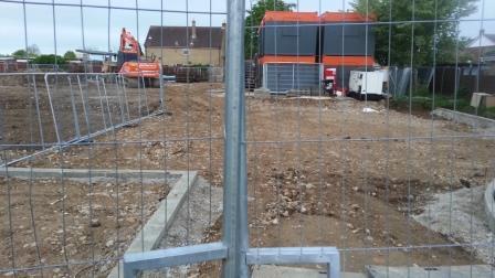 Bradlands Old Building Demolition