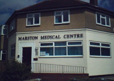 Former Marston Medical Centre
