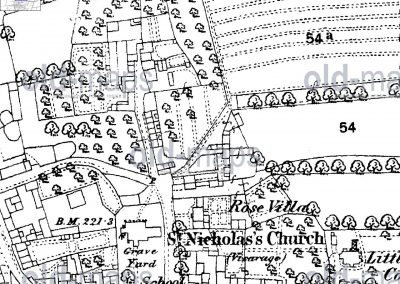 Butts_Lane_map