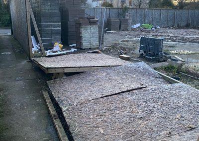 Jack Russell Derelict Building Site