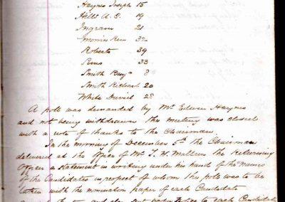 Old Marston Parish Council Minutes 04 December 1894 p2