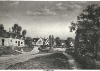 Old Marston Village 1828