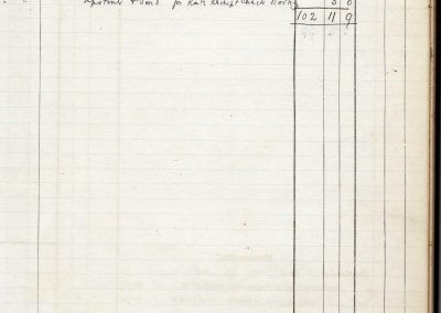 Special Expenses Rate, Receipt and Payment Book 22 Jan 1912 - Payments