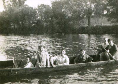 Webb Family River Cherwell Summer 1937