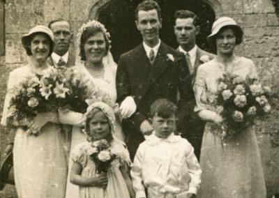 Webb Family Wedding St Nicholas Church 1933