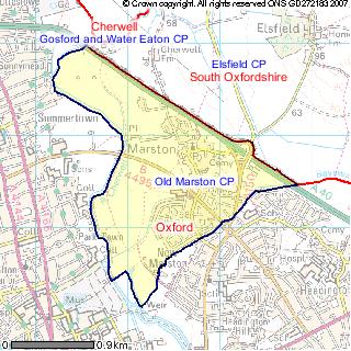 Old Marston Parish Boundary