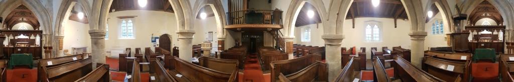 St Nicholas Parish Church Interior