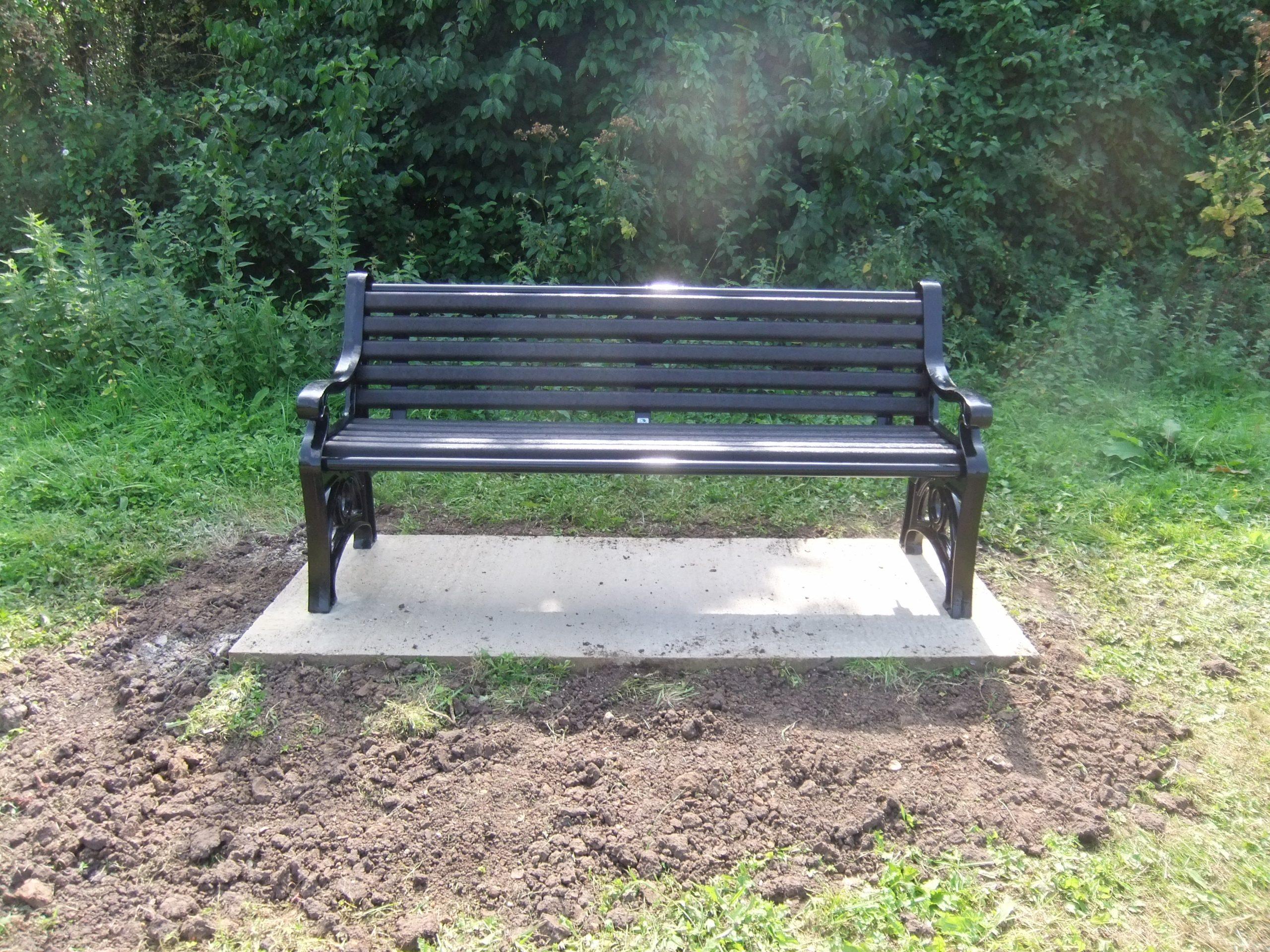 Bench in Cemetery Paddock